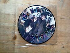 "The Cure Love Cats 7"" PICTURE DISC Single Excellent Vinyl Record FICSP 19"
