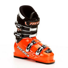 2013 Tecnica Race Pro 70 Sonic Orange 22.5 Junior Ski Boots