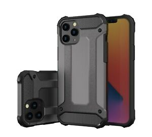 Rugged Armor Shockproof Tough Back Case Cover for iPhone 11 12 Pro 7 8 SE XR Max