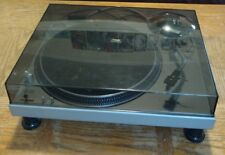 Technics SL 1200 MK1 Turntable With Dust Cover Headshell cartridge Stylus Tested