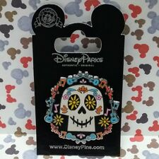 Sugar Skull Pin 2017 Disney Pixar Coco Day of the Dead Dia de Los Muertos OE