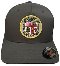 Water And Power Seal Hat Flexfit Dark Gray Size L/XL City Of Los Angeles DWP Hat
