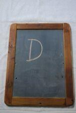 Antique Slate / Chalk Board Reclaimed Old Wood Frame