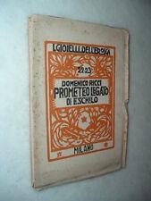 I Gioielli dell' EROICA - Prometeo legato, di Eschilo; trad. di Domenico Ricci