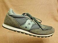 Saucony Jazz LowPro 2866-169 Men Gray Sport Athletic Running Sneakers Size 13