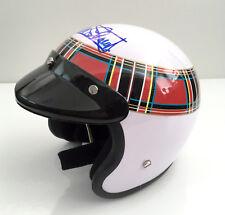Jackie Stewart firmado 1/2 media escala, abierto cara casco, campeón mundial de fórmula 1