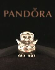 Authentic Pandora Chick Charm Sterling Silver Bead Retired Pandora Chicken Charm