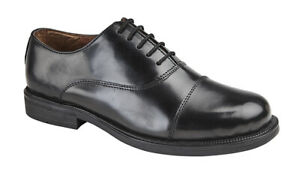 LEATHER CADET SHOES MILITARY PARADE ARMY SHOES