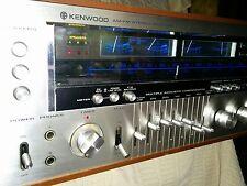 Kenwood model eleven vintage Monster receiver with equalizer , Very Clean,
