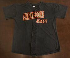 Rare Vintage WWF Stone Cold Steve Austin 3:16 Baseball Jersey