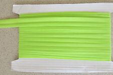 Bias binding Lime green Poly Cotton 25mm(1inch) x10m