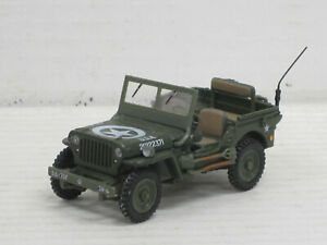 "Jeep Willys in olivgrün ""USA 20122371"", Hongwell, ohne OVP, 1:43"