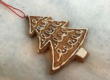 Gingerbread Tree Hanging Christmas Decoration by Gisela Graham
