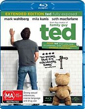 Ted - Mark Wahlberg (Blu-ray, 2012) NEVER PLAYED & STILL SEALED