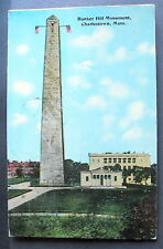 CHARLESTOWN MA BUNKER HILL MONUMENT