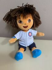 "Chicago Cubs DORA THE EXPLORER Wearing Jersey 8"" Plush Ty Beanie Baby"