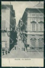 Genova Città Via Garibaldi cartolina RB8086