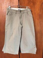 Ibex Women's 6 tan Organic Cotton Soft cargo pants
