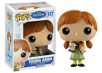Funko Bobble Head Pop Culture Disney Frozen Young Anna Figure New
