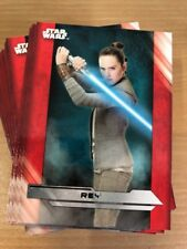 Star Wars Last Jedi Complete 100 Card Base Set