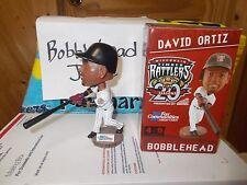 NIB 2014 DAVID ORTIZ TIMBER RATTLERS BREWERS RED SOX BOBBLEHEAD SGA 5/13/14