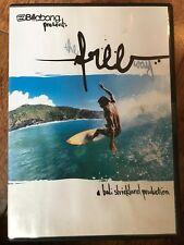 THE FREE WAY ~ Billabong Bali Strickland / Surf / Surf Documental GB DVD