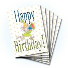 Suzy's Zoo Happy Birthday Card 6-pack 10299