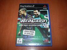 REDCARD PS2 (PAL ESPAÑA PRECINTADO)