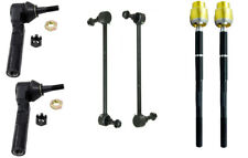 2007-2009 SATURN AURA TIE ROD END FRONT INNER & OUTER PLUS SWAY BAR LINK KIT 6P
