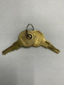 135E HON Pair of 2 Keys Metal Casegoods 101E-225E key
