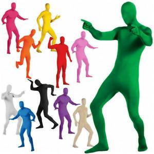 Party Costume Invisible Morph Suit Adult Men Women Full Body Spandex Jumpsuits