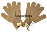 Army WOOL GLOVE INSERTS Liners Coyote Brown USGI US Military Issue XL NWT