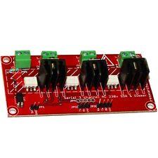 Serial 3 Channel AC 230V SSR and AC Dimmer For Arudino Raspberry PI 110-220V