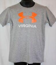 Girls Under Armour Big Logo Virginia Shirt YLG Large