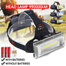 100000LM LED USB Rechargeable 18650 Headlamp Headlight Fishing Torch      2
