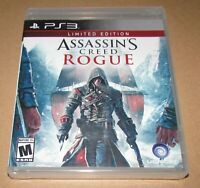 Assassin's Creed Rogue Limited Edition PlayStation 3 Brand New / Fast Shipping