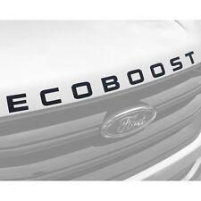 2015-2019 Ford Edge Hood ECOBOOST Decal Sticker (Matte Black)