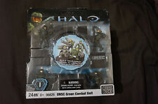 Halo Mega Bloks UNSC Green Combat Unit 96826, Toy Game Model Spartan Xbox, New