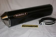 "Hindle 20"" long for 2"" pipe, Evo Carbon Fiber Muffler Supersport- 75-2020C"