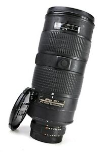 Nikon AF-S Nikkor 80-200mm F2.8 D ED Telephoto Zoom Lens + Caps  - Manual Focus