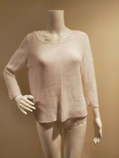 Eileen Fisher White Linen Sweater PM