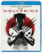 The Wolverine (Blu-ray/DVD, 2013, 2-Disc Set) NEW