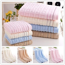 Cotton Stripe Grid Towels Large Bath Sheet Bath Towel Hand Towel Face Eager