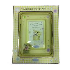 FIZZY LUNA marco de la foto resina beis para bautizo 18,5x14 cm idea de regalo