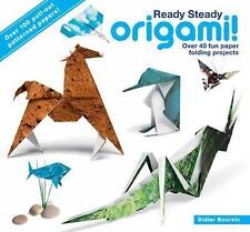 Ready Steady Origami: Over 40 Fun Paper Folding Projects, New Books