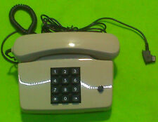 Widmater Tischtelefon TEL 752-1 beige Pulsewahl