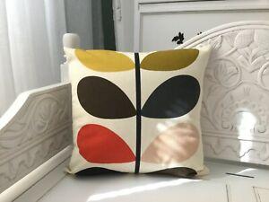 HANDMADE cushion cover Use Orla Kiely Tomato stem Fabric SINGLE SIDED