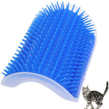 Cat Pet Self Groomer Brush Wall Corner Grooming Massage Comb Toy & Cat skMWUS