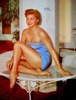 Esther Williams 1953 Vintage Pinup Litho Virgil Apger Photo Publicity Promo COA