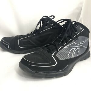 Reebok Mens Sublite Pro Rise Basketball Shoes Black J99832 High Top Sneakers 12